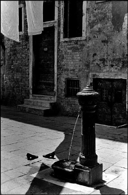 INGE MORATH ITALY. Venice. 1955.