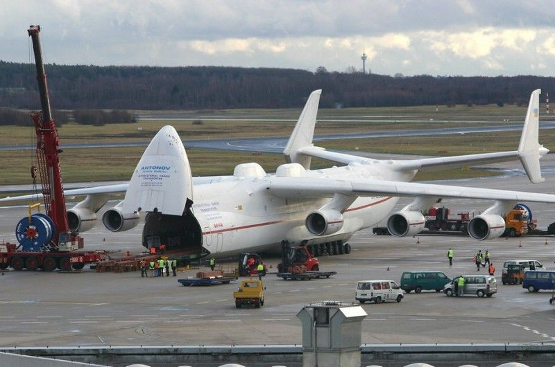 The Biggest Operating Aircraft In The World Is The Russian Giant