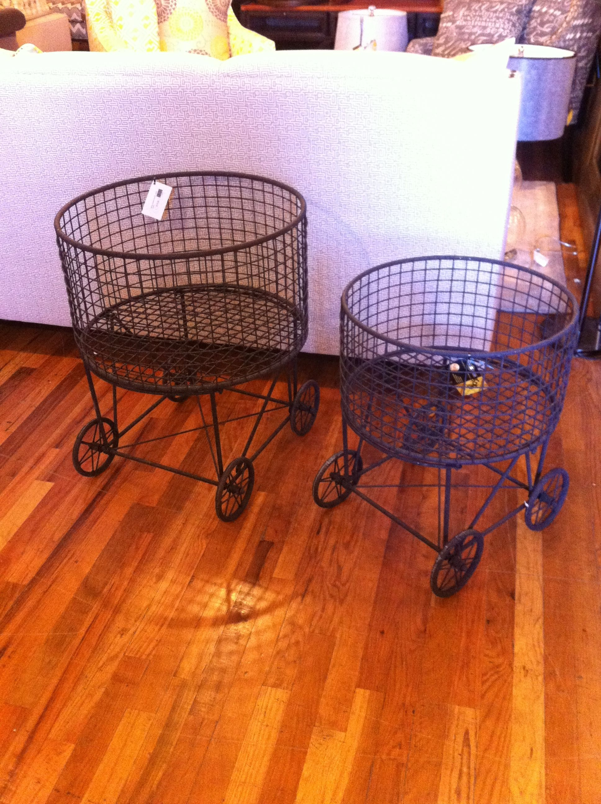 Adorable Cart Baskets At Osmond Designs In Orem And Lehi Utah