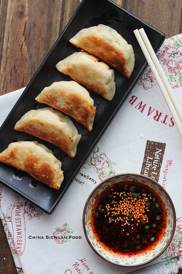 Chinese Chive Potstickers