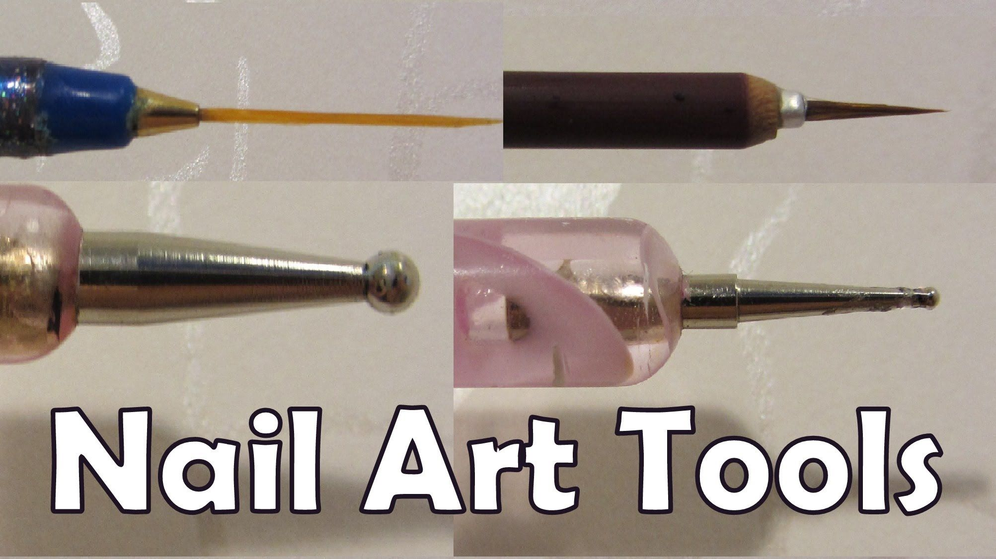 How To Make Your Own Nail Art Tools At Home Use Sharp Pencil For Small Dotting Tool Blunt Large Or The Head Of A Pin