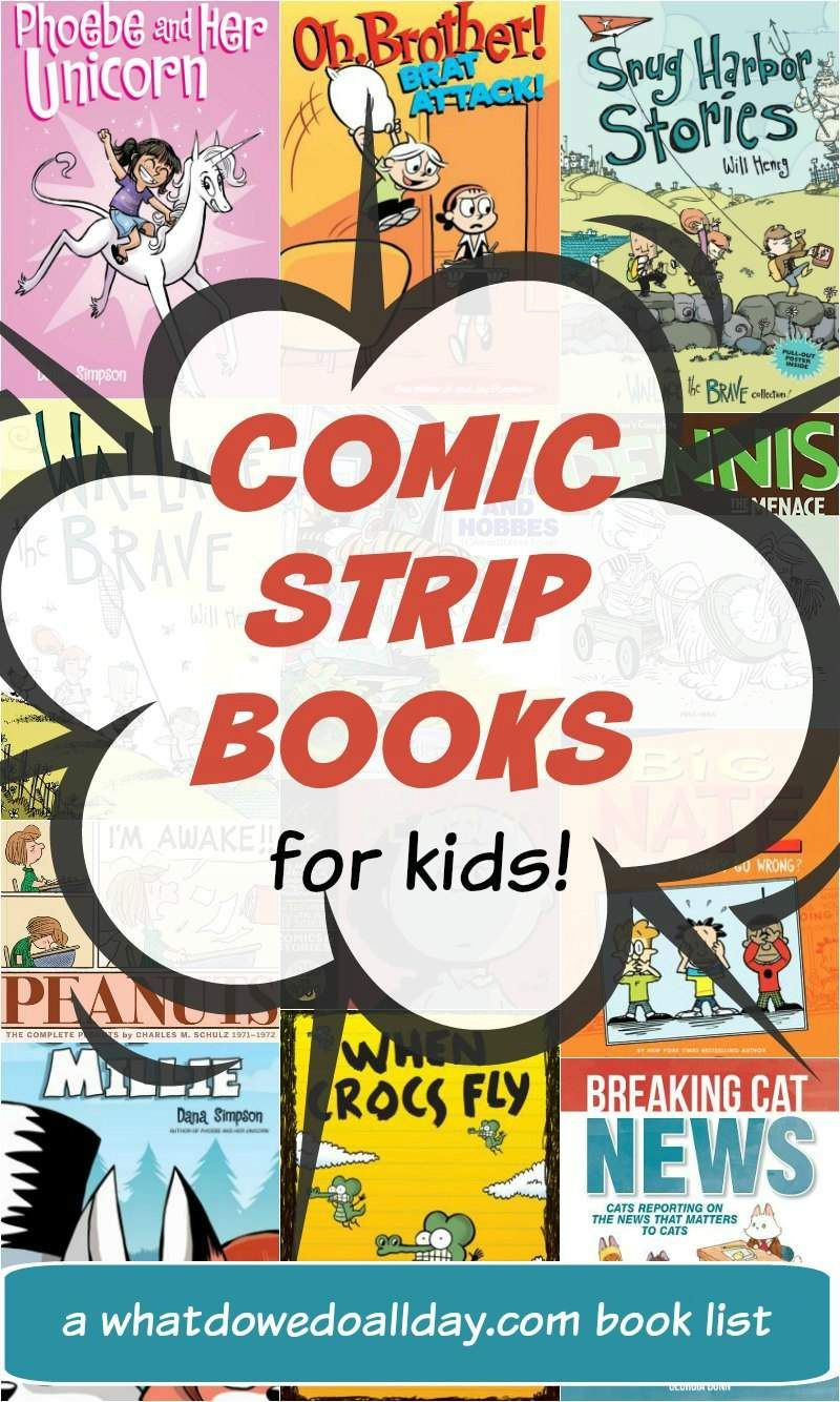Comic Strip Books Cartoons Your Kids Will Love Books Book Humor Chapter Books