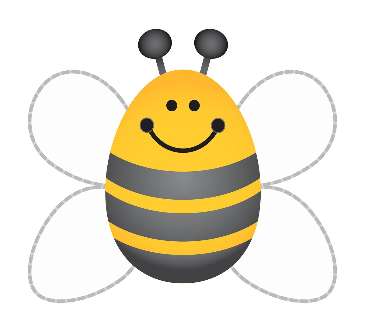Craft bumble bee - Bumblebee Template Clipart Best