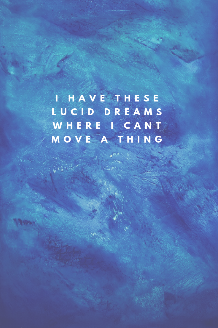 Juice Wrld Quote from Lucid Dreams Song lyrics wallpaper