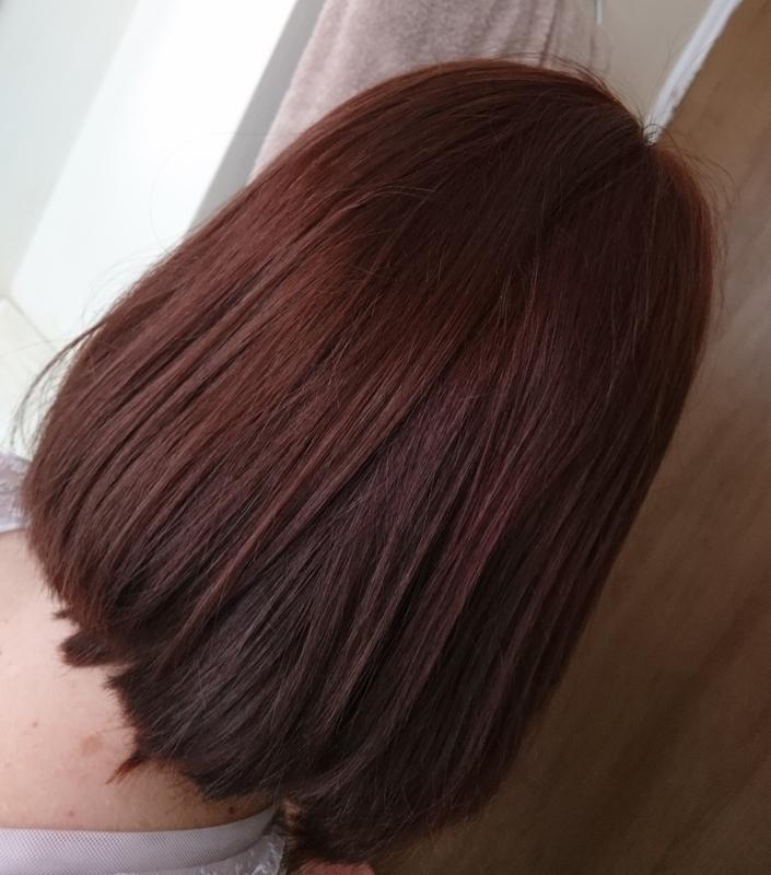 Dark Copper Mahogany Hair Dye In 2020 Mahogany Hair Dyed Natural Hair Dark Hair Dye