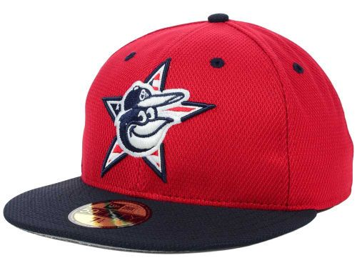 new styles 05515 d71bd Baltimore Orioles New Era MLB 2014 AC July 4th Stars   Stripes 59FIFTY Cap  Hats