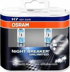 Set 2 Becuri Auto Osram H7 12v 55w Px26d Night Breaker Unlimited Produse