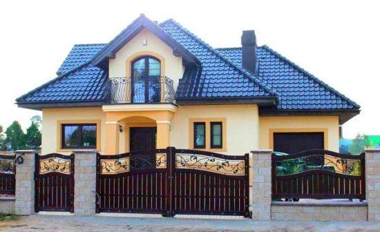 garduri fier forjat modele pentru case cu stil gard