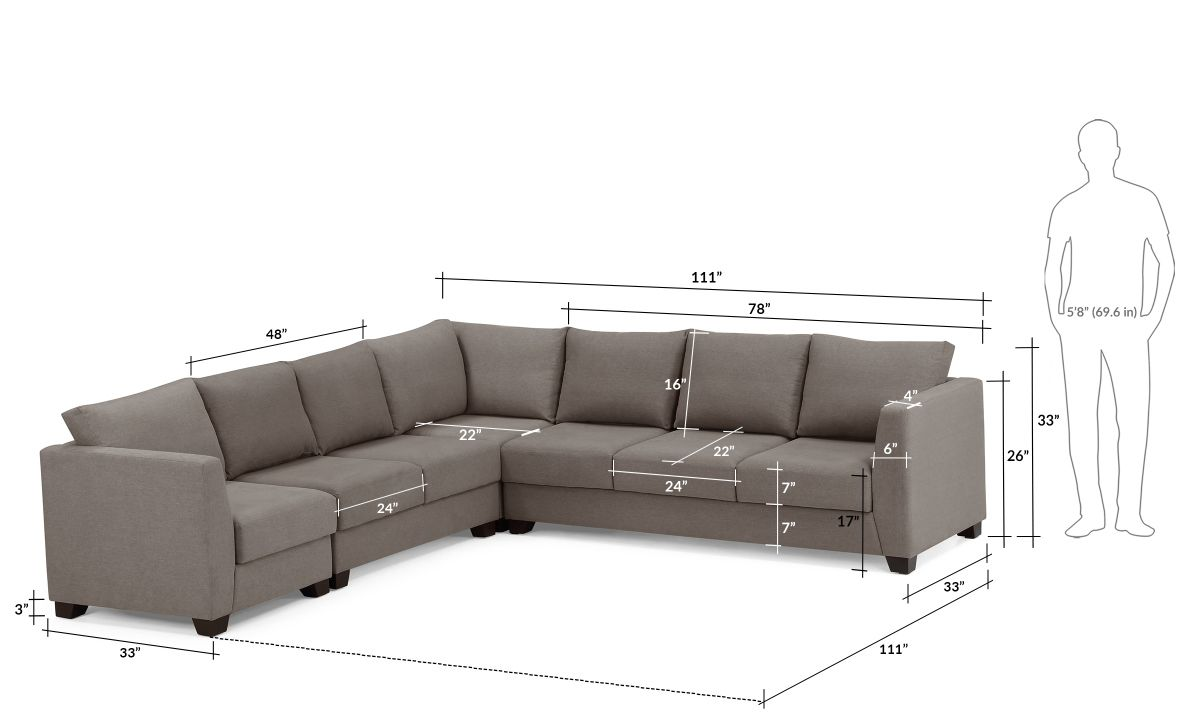 L Shape Corner Sofa 6 Seater Sofa Layout Living Room Sofa