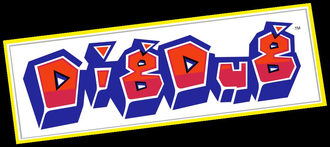Dig Dug Logo Logos Video Game Machines School Logos