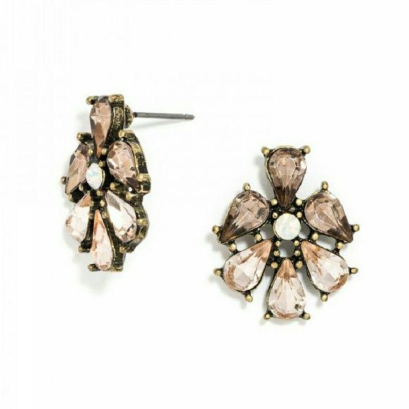 Baublebar Peach Earrings New, never worn Baublebar  Jewelry Earrings