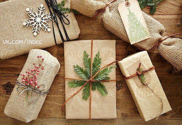 Новогодняя подарочная упаковка 88