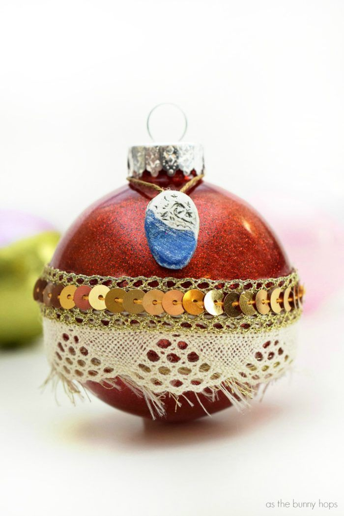 Craft Up Some Disney Inspired Fun With Some Sparkly Princess Ornaments These Diy Disney Christmas Ornaments Disney Christmas Decorations Disney Ornaments Diy