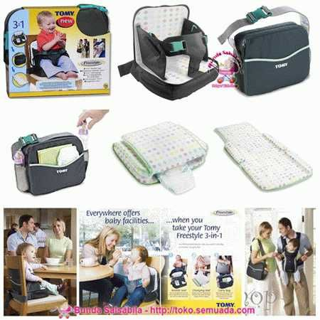 JUAL TOMY FREESTYLE 3IN1 BOOSTER SEAT Harga: Rp. 210,000 Item ID ...