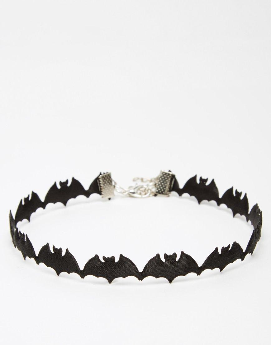 Suzywan DELUXE Halloween Bat Choker Necklace