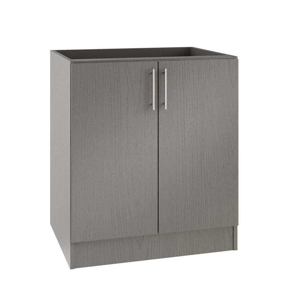 Miami Open Back Outdoor Kitchen Base Cabinet With 2 Full