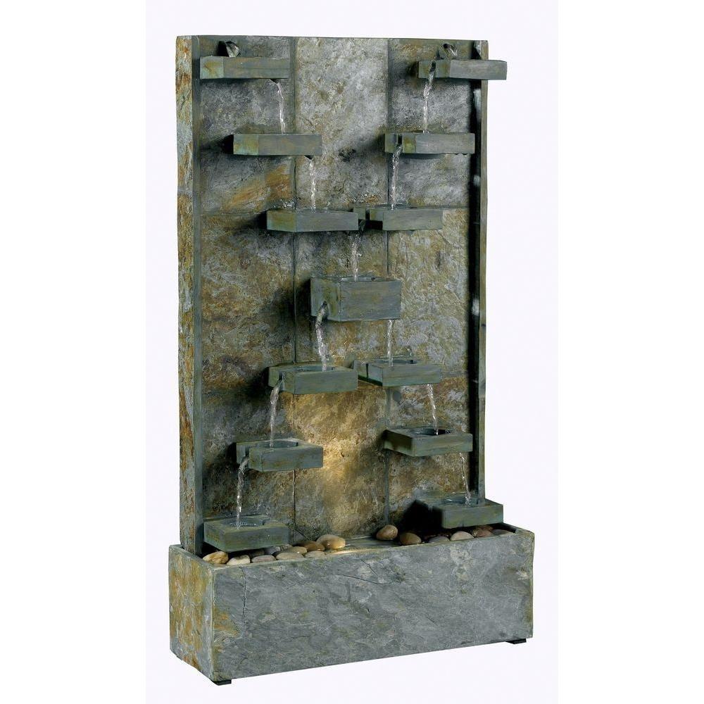 Kenroy Home Watercross Indoor Outdoor Fountain 50375sl Indoor