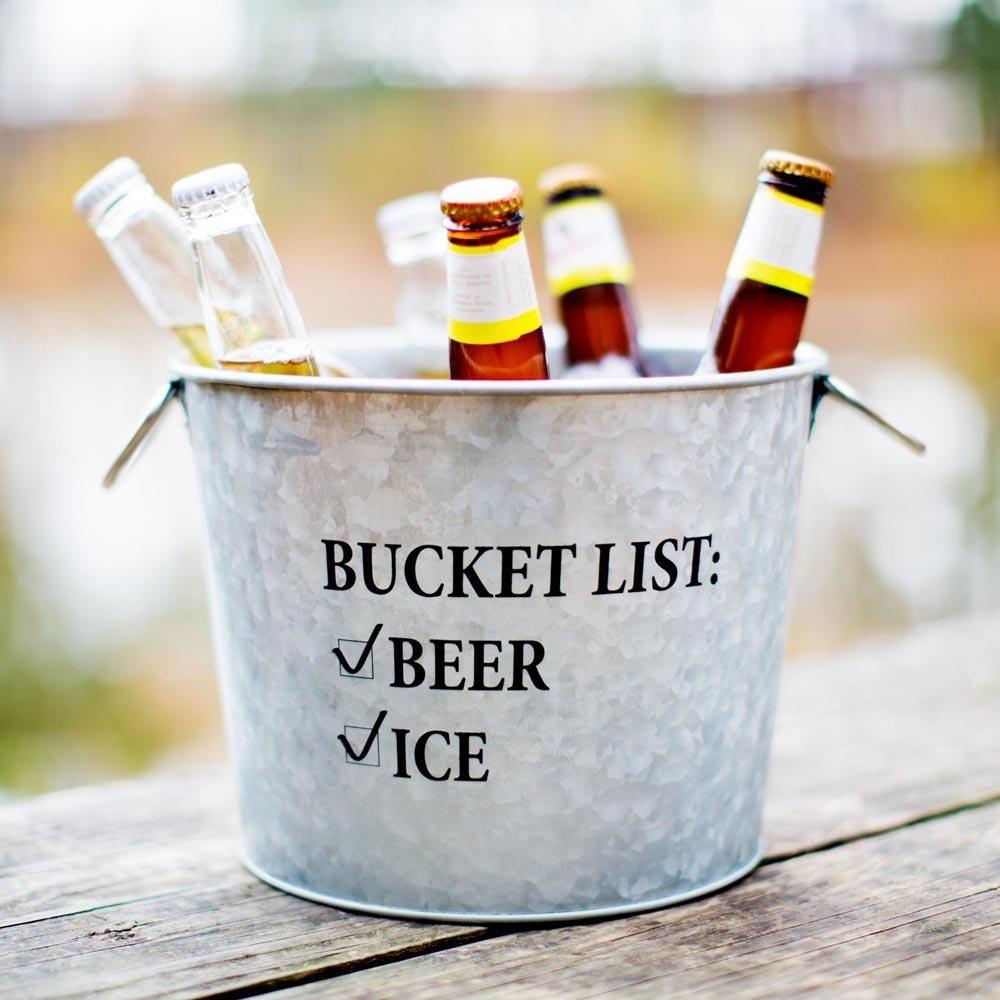 Bucket List Beer Bucket Beer Bucket Beer Bucket