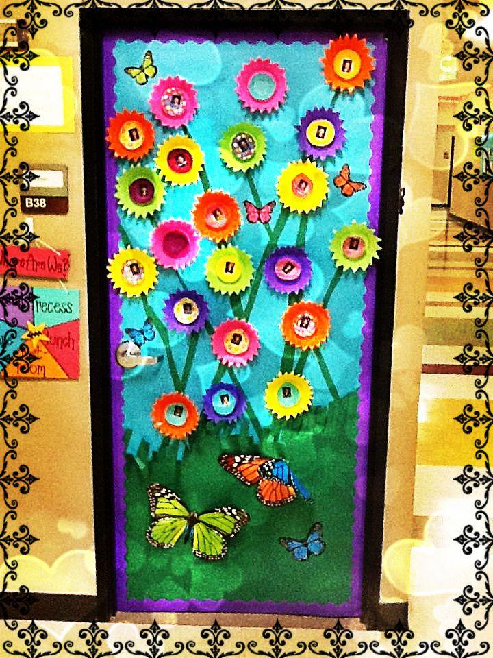 Soy preescolar ideas para decorados creatividad for Ideas puertas salon