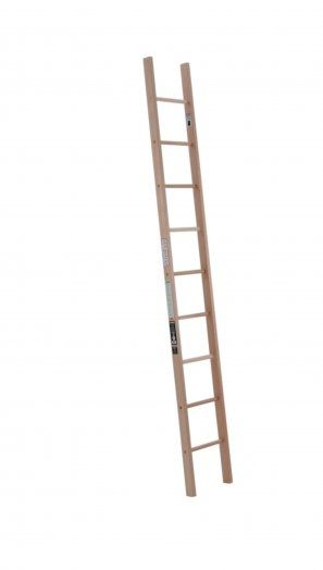 Single Straight Wood Ladder Wood Ladder Loft Ladder House Ladder