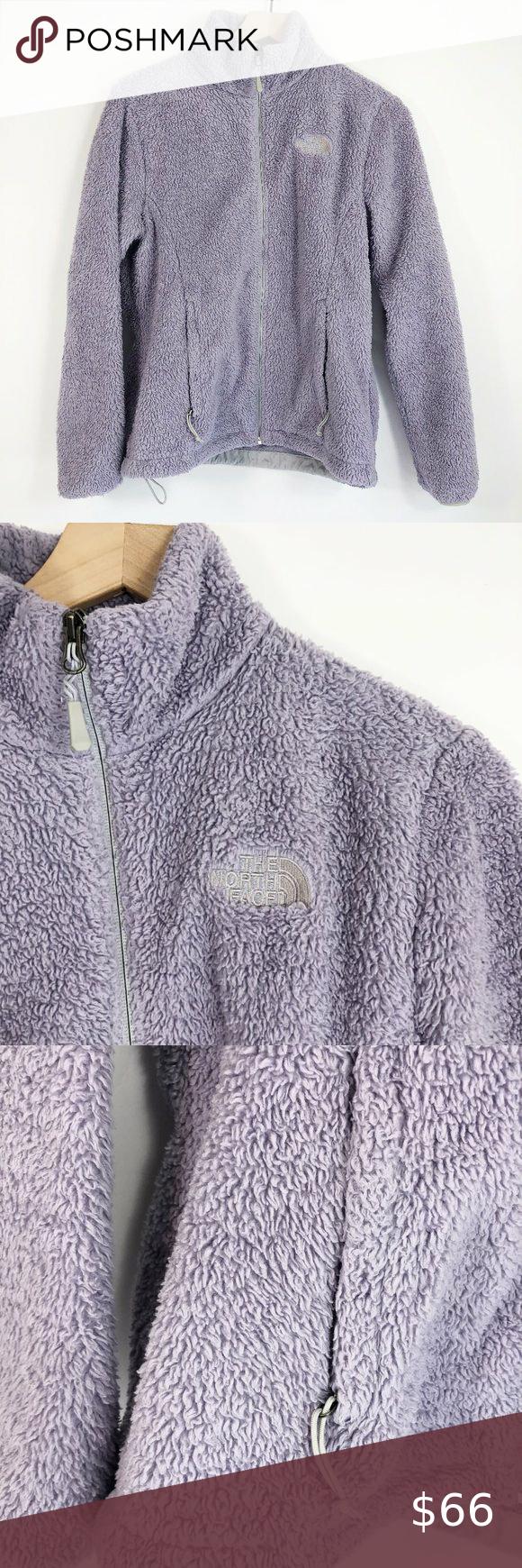 The North Face Ashen Purple Osito Fleece Jacket M Fleece Jacket North Face Jacket Jacket Style [ 1740 x 580 Pixel ]