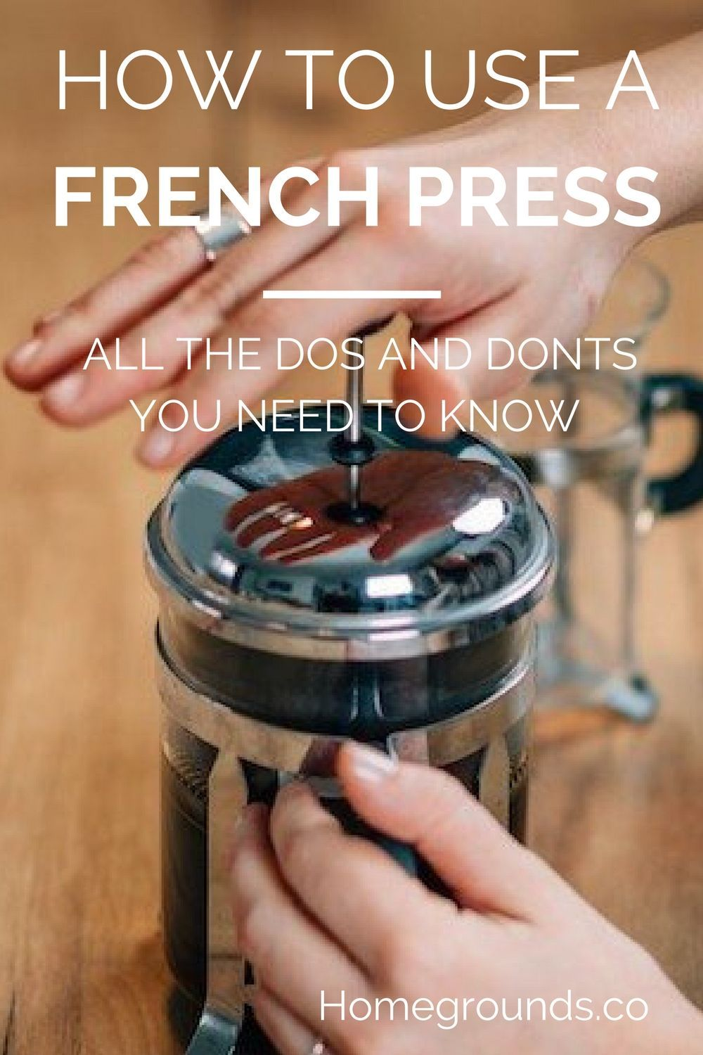 How to use a french press and how not to french press