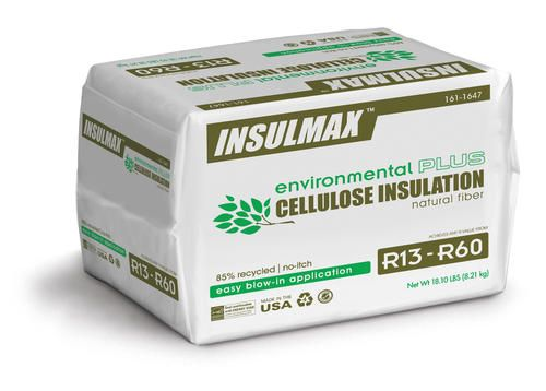 Insulmax Blow In Cellulose Insulation At Menards Insulmax Reg Blow In Cellulose Insulation Cellulose Insulation Loose Fill Insulation Insulation