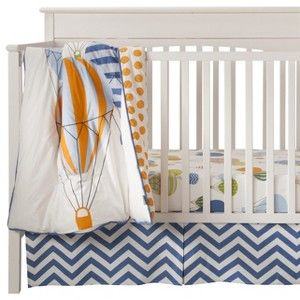 Room 365 Hot Air Balloon 3pc Crib Bedding Set this could ...