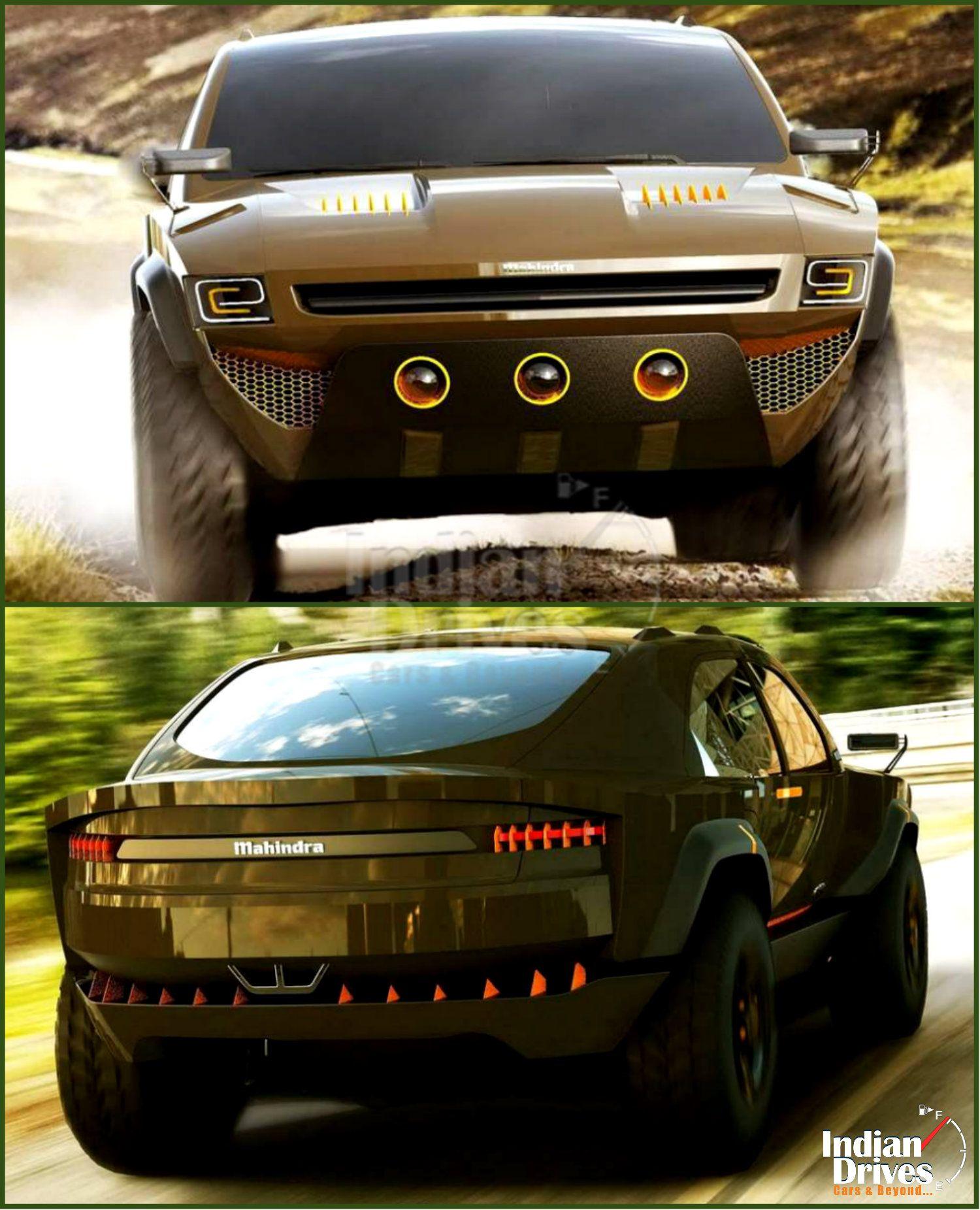 2014 Mahindra SUV IED Komodo Concept by Indian designer