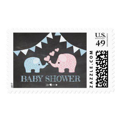 Blue boy elephant themed baby shower postage chalkboard gifts blue boy elephant themed baby shower postage chalkboard gifts negle Gallery