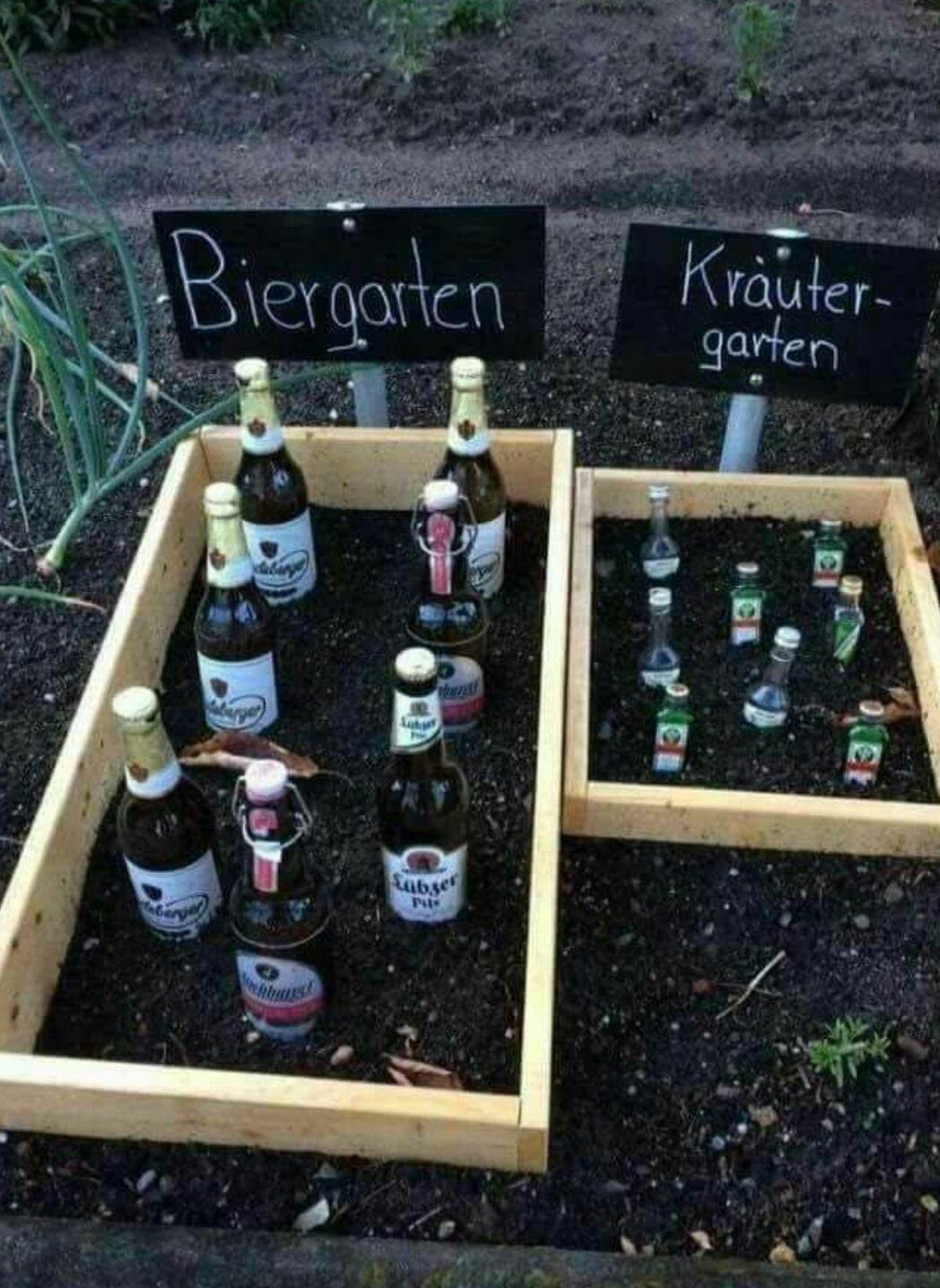 Ein Bier- und Kräutergarten | Was is hier eigentlich los