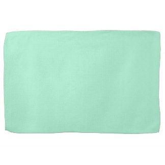 Mint Solid Color Hand Towel Towels Green