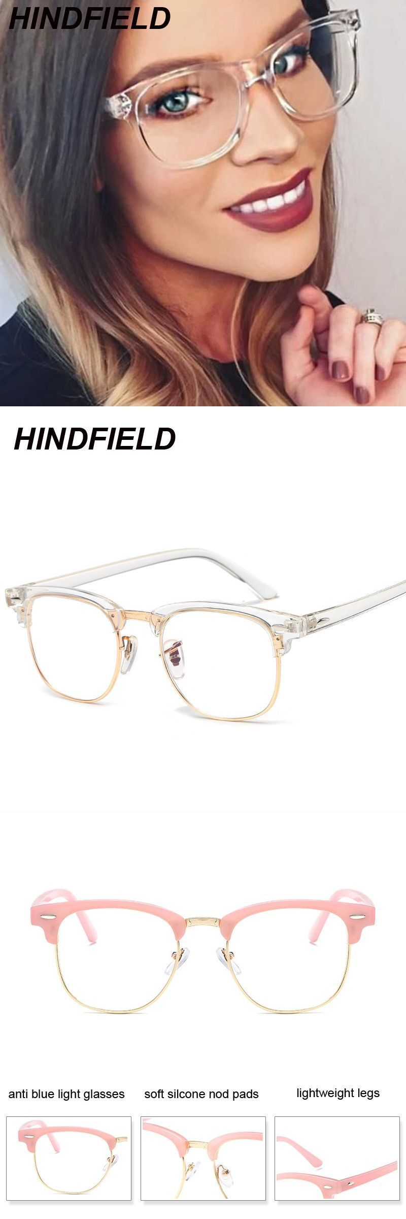 5033e0ff61d Korean fake glasses frames women transparent oculos clear lens square glasses  fashion optical frame eyeglasses oculos  frames  eyewear  accessories   plastic ...