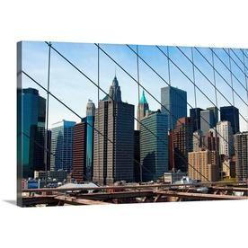 Greatbigcanvas Brooklyn Bridge Iii By Erin Ber 1158847-24-36X24