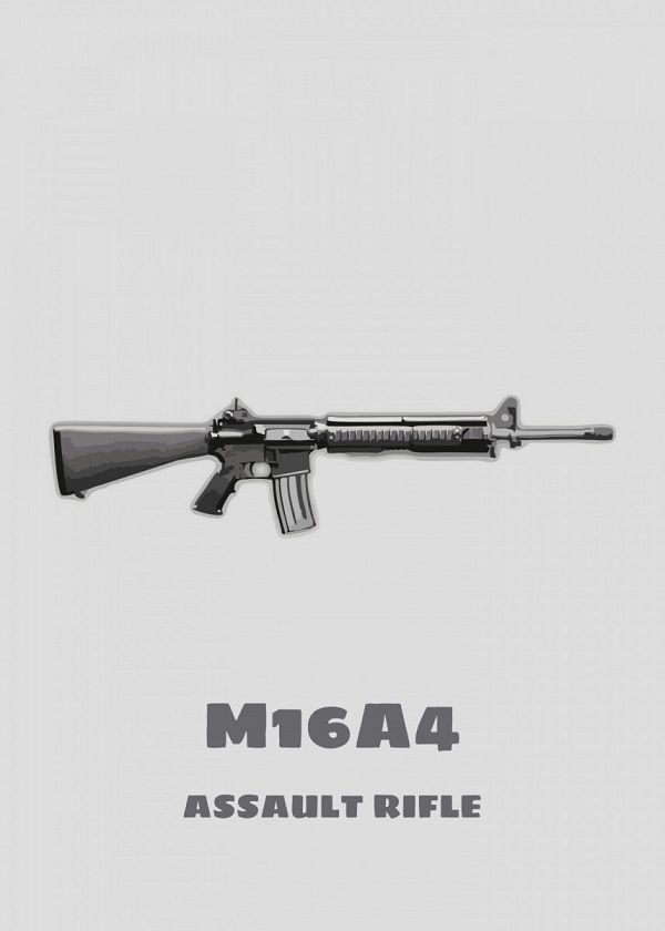 PUBG Weapons Displate Posters