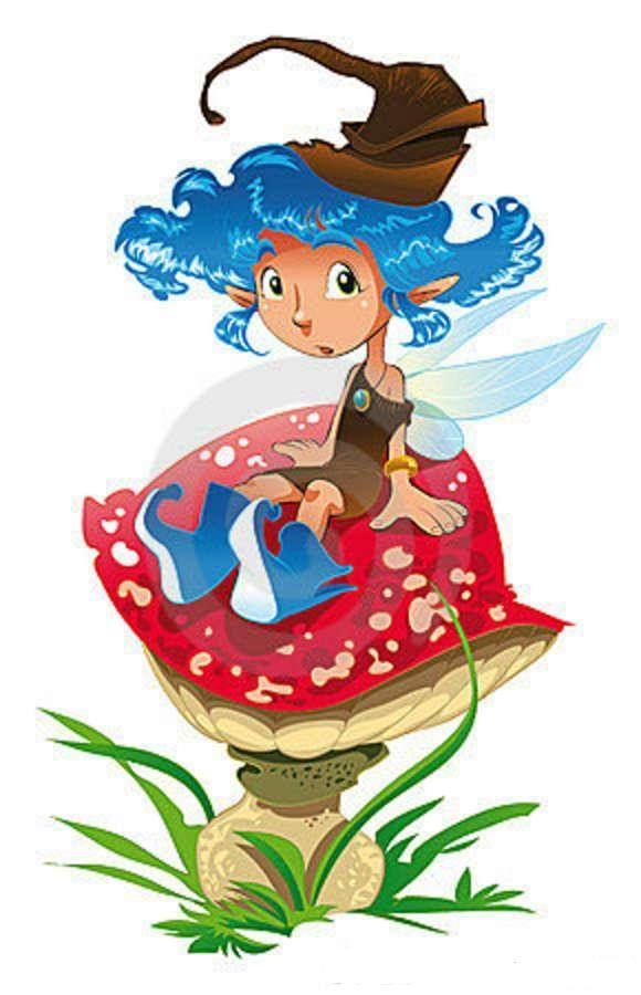 Cuento Infantil El Hada Azul Cuentos Y Demás Para Peques Hadas Cuento Infantiles Ilustración De Los Niños