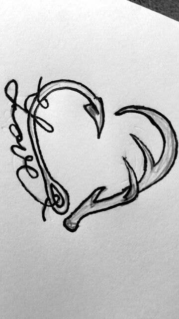 Heart Hairpin