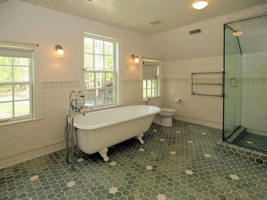 clawfoot bright white color pictures neutral taupe against bathrooms vintage right a raw while looks woodwork wall ties black pine together fittings beautiful bathroom with at stylish tub everything tubs the home