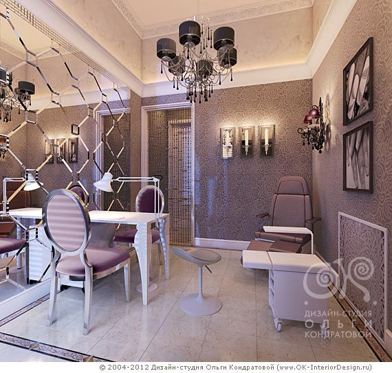 Fancy Manicure Salon Decoration: LOVE THIS DECOR! The Colors And Nail Room Is Pretty! Home