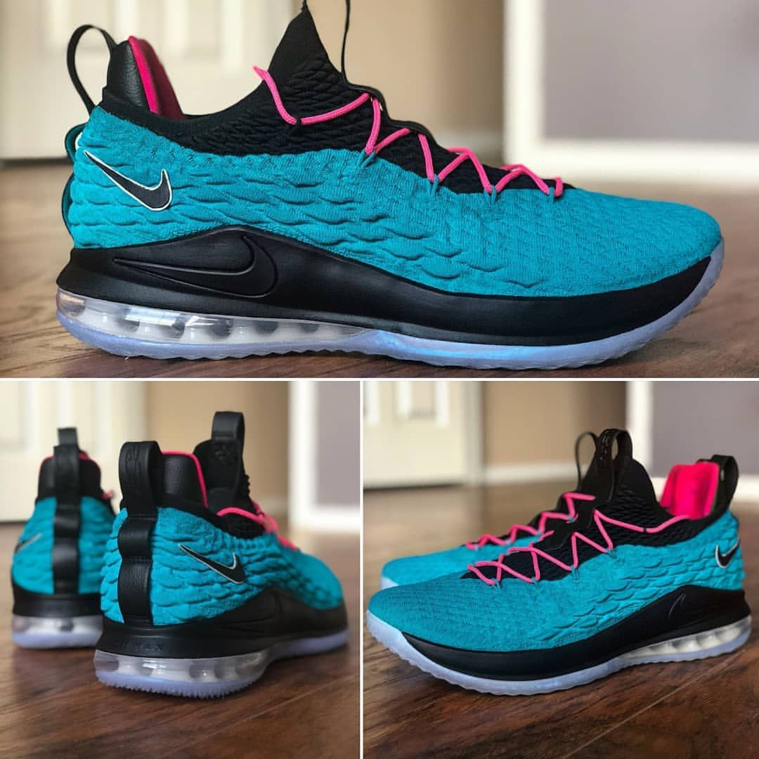 5f3abcd26d89 For a while sneaker customizers avoided the South Beach theme but it seems  that it s back to being popular after  kingjames brought 🔥 💥 😎.