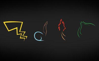 Pokemon symbols wallpaper