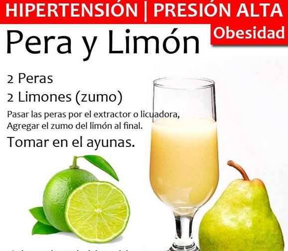 frutas para bajar la presion arterial rapidamente