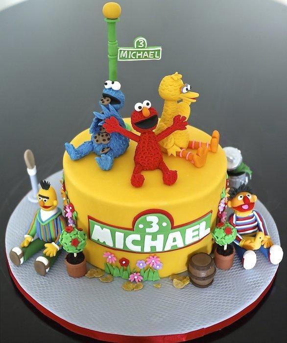 Sesame Street cake JAHZARAS KORNER Pinterest Sesame street