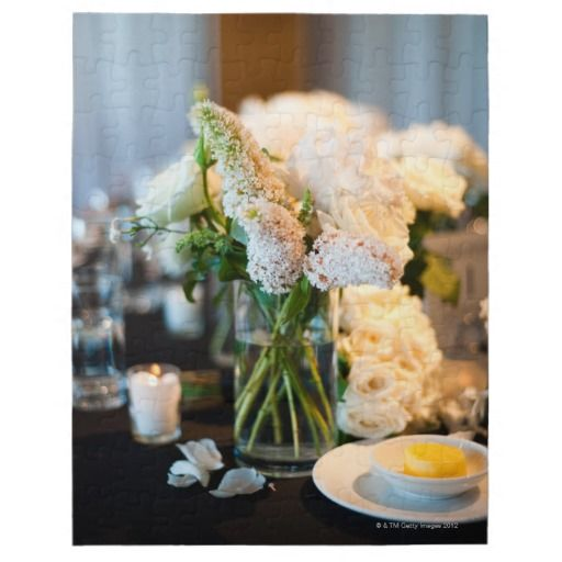 wedding table decorations jigsaw puzzles
