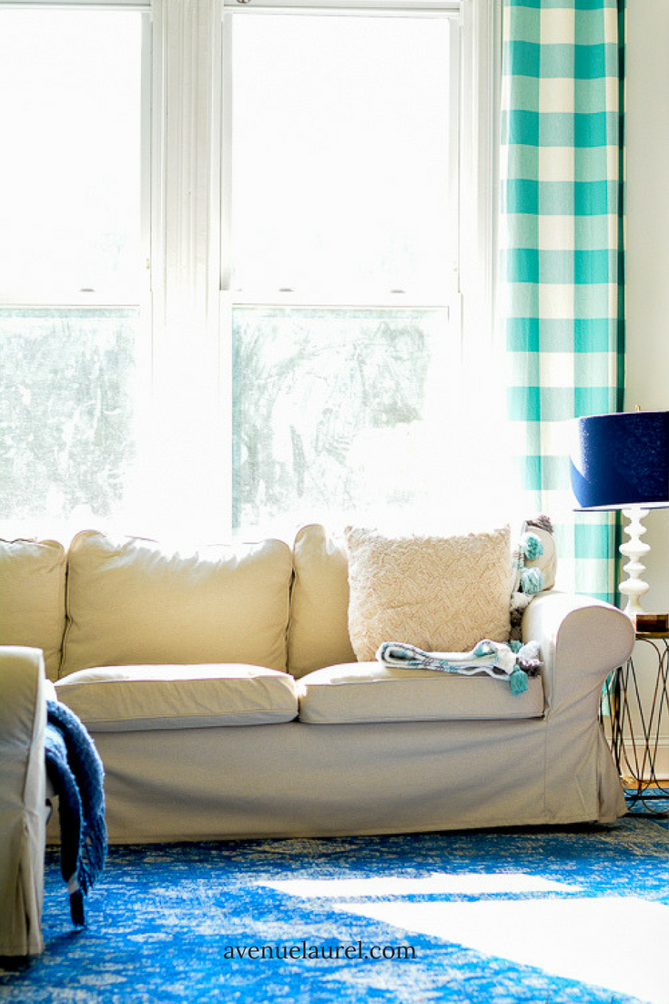 My summer living room- a quick and easy refresh. | Pinterest ...
