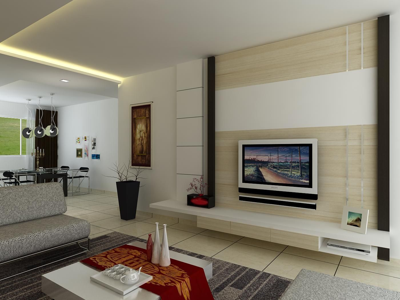 Living+Room+Feature+Wall+3D (1400×1050) Part 38