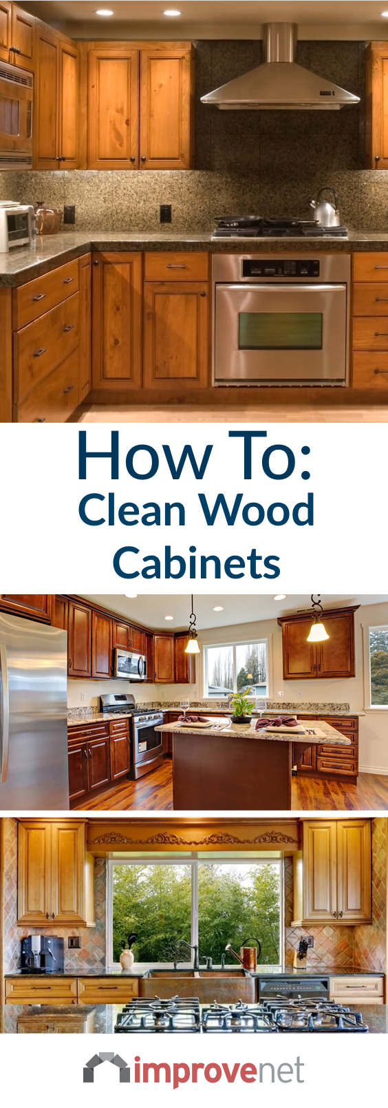 How To Clean Wood Cabinets & Make Them Shine | Cleaning ...