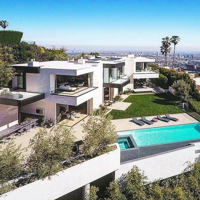 maison moderne hollywood