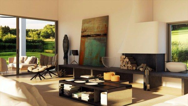 The style examiner the most beautiful homes in the world for Casa quinta minimalista