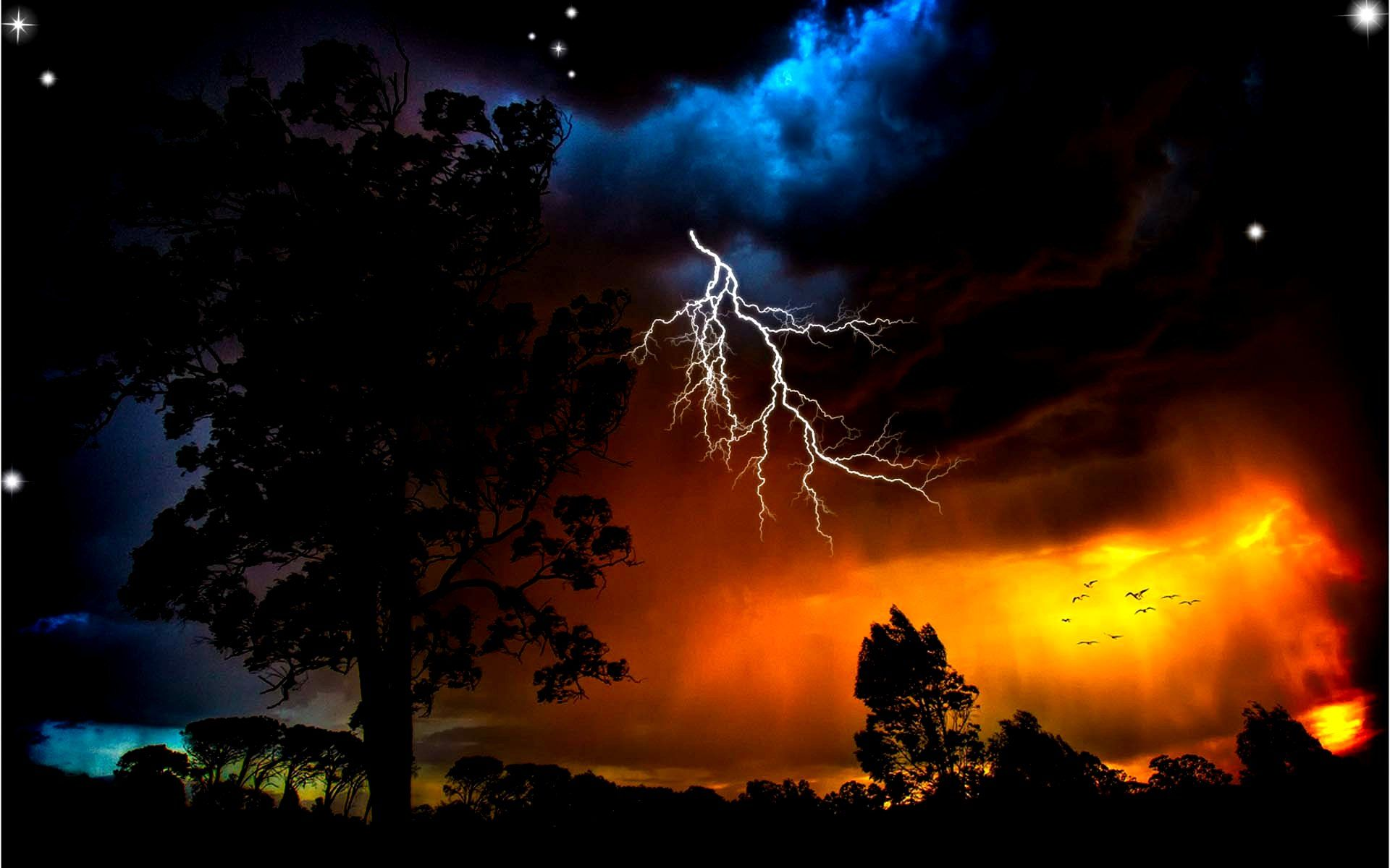 Thunder Fire HD Pictures, Thunder Storm Wallpapers ...
